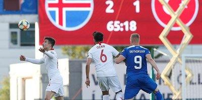 MAÇ SONUCU: İzlanda 2-1 Türkiye | MAÇ ÖZETİ