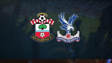 Southampton - Crystal Palace maçı ne zaman, saat kaçta ve hangi kanalda CANLI yayınlanacak?