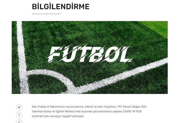 Fenerbahçe corona virüsü test sonuçlarını açıkladı! - Futbol -
