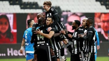 Besiktas hammer Erzurumspor 4-0