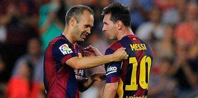 Barça'dan Messi ve Iniesta açıklaması