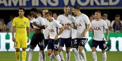 Tottenham, PSG'ye şans tanımadı