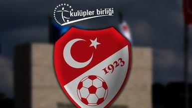 Son dakika: Kulüpler Birliği'nden TFF'ye öneri! Yabancı sayısı...