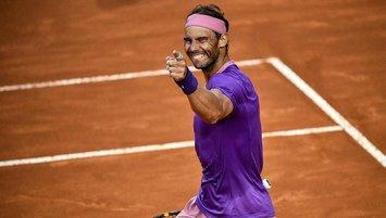 Rafael Nadal Roma Açık'ta 10. kez şampiyon!