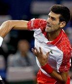 Djokovic Şangay'da finale kaldı