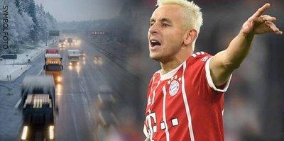 Bayern Münihli futbolcu trafik kazası geçirdi