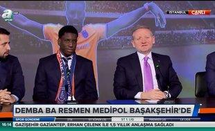 Demba Ba imzaladı! Resmen Başakşehir'de