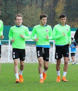 Kardemir Karabükspor'da Altay maçı hazırlıkları sürdü