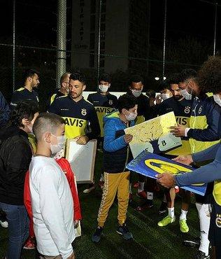 Fenerbahçe'de oyunculardan anlamlı destek