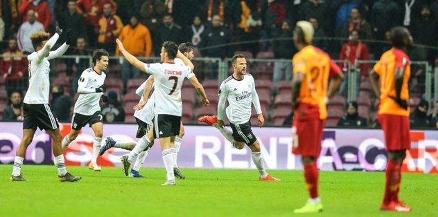 Galatasaray to face Benfica in UEFA Europa League