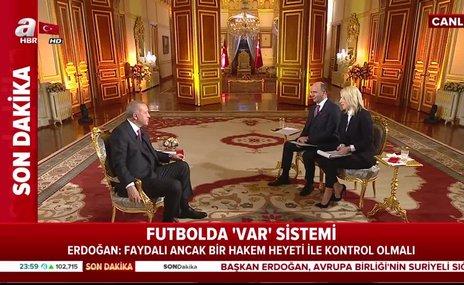 Başkan Erdoğan'dan flaş Milli Takım açıklaması