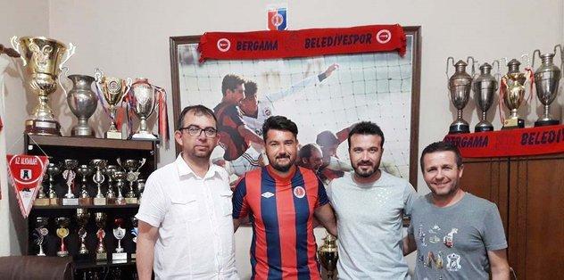 Bergama Belediyespor kalesi Kazım'a emanet