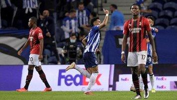 Porto Milan'ı tek golle geçti!