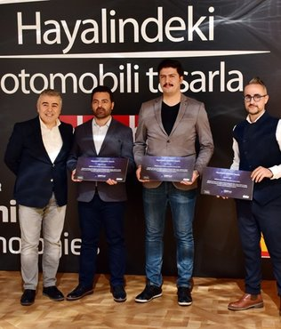 Hayalindeki Otomobili Tasarla yarışmasının kazananları belli oldu
