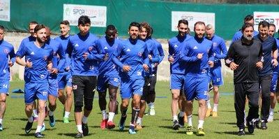 Karabükspor, Antalyaspor hazırlıklarını tamamladı