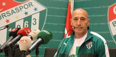 Bursaspor Teknik Direktörü Örnek'ten maç yorumu