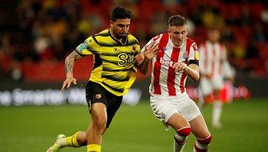 Ozan Tufan ilk kez sahne aldı! Watford Stoke City : 1-3 | MAÇ SONUCU