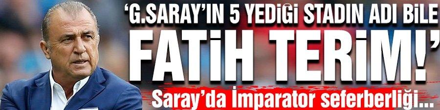 G.Saray'da Fatih Terim sesleri!