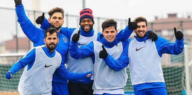 Osmanlıspor, Kasımpaşa maçının hazırlıklarına başladı