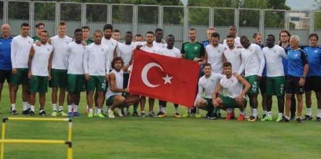 Bursaspor'da Akhisar maçı hazırlıkları başladı
