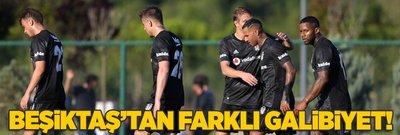 Beşiktaş'tan farklı galibiyet!
