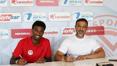 Son dakika spor haberi: Antalyaspor Haji Wright ile resmi sözleşme imzaladı