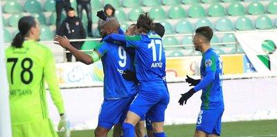 Çaykur Rizespor'a tek gol yetti
