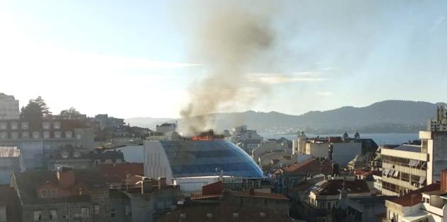 Celta Vigo'ya büyük şok! Kulüp binası alev alev yandı