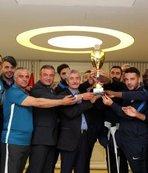 Şahnbey Belediyesi'nden üçüncü şampiyonluk!