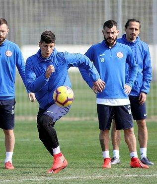 Antalyaspor Medipol Başakşehir maçına hazır
