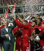 Sivas Cumhuriyet Kupası 9'uncu kez DG Sivasspor'un
