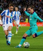 Barcelona Real Sociedad engelini aşamadı!