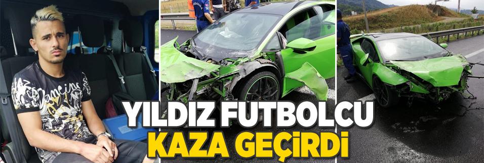 Korkutan kaza!.. Süper Lig'in yıldızı...