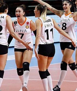 Eczacıbaşı VitrA: 3 - LP Salo: 0 | CEV Kadınlar Şampiyonlar Ligi