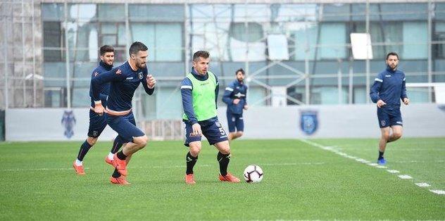 Başakşehir'de Rizespor maçı hazırlıkları sürüyor