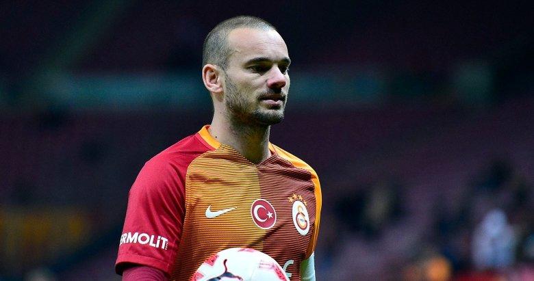 Süper Lig ekibinden Sneijder sürprizi!