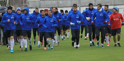 Trabzonspor'da Sivasspor mesaisi