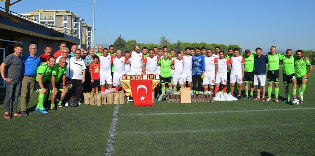 Akhisar'da golcü Şehmus Özer unutulmadı