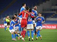 İtalya Kupası'nda zafer Napoli'nin! İşte dev finalden kareler...