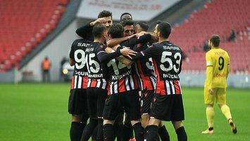 Samsun Eskişehir'e gol yağdırdı!