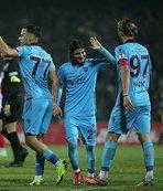 Trabzonspor'da çeyrek final sevinci