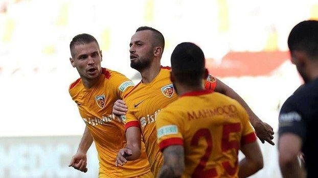 Kayserispor'un golcüsü İlhan Parlak rekora koşuyor #