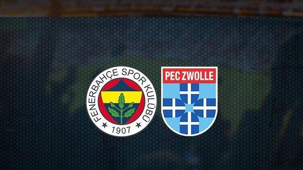Fenerbahçe - PEC Zwolle maçı saat kaçta ve hangi kanalda? (Fenerbahçe - PEC Zwolle maçı canlı)