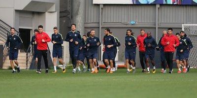 Osmanlıspor'da Trabzonspor maçı hazırlıkları