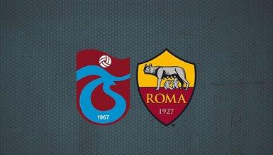 Trabzonspor maçı ne zaman? Trabzonspor Roma maçı hangi kanalda? Saat kaçta? Şifresiz mi yayınlanacak? | TS haberleri