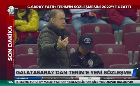 Galatasaray, Fatih Terim'in sözleşmesini uzattı!
