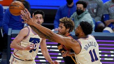 Son dakika spor haberi: NBA'de Furkan Korkmazlı Philadelphia 76ers Golden State Warriors'ı 10 sayı farkla yendi