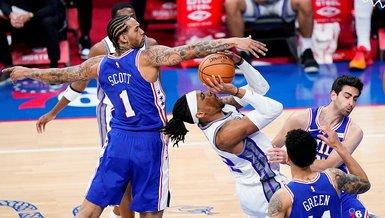 Philadelphia 76ers-Sacramento Kings: 129-105 | MAÇ SONUCU