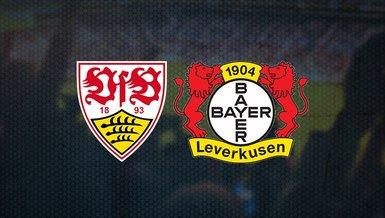 Stuttgart Bayer Leverkusen maçı ne zaman? Saat kaçta ve hangi kanalda CANLI yayınlanacak? Muhtemel 11'ler...
