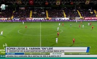 """Süper Lig'de 2. yarının """"en""""leri"""